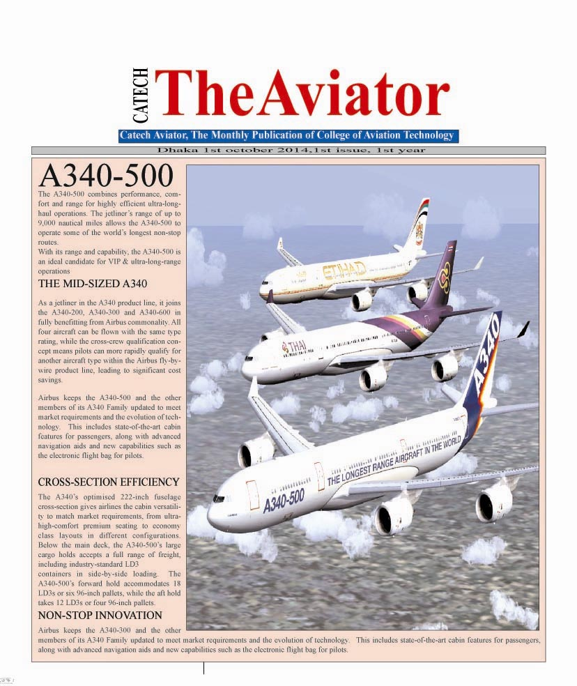 catch publication - College of Aviation & Technology